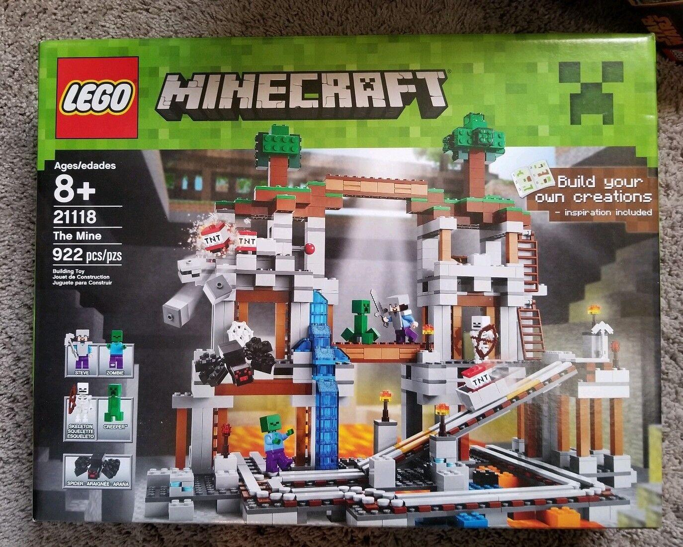 LEGO Minecraft Mine 21118 NIB