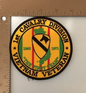 US ARMY FIRST 1ST AIR CAVALRY DIVISION VIETNAM PATCH NON REGULATION HELICOPTER
