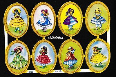 Rar Wie Eo 5807 Alt # Glanzbilder # Mlp 1698 Süße Mädchen Oval In Medaillons