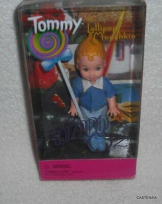 NRFB MATTEL BARBIE DOLL  Wizard of Oz TOMMY as LOLLIPOP Munchkin Doll 1999)