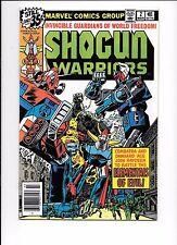 Shogun Warriors #2 March 1979 Raydeen, Dangard and Combatra