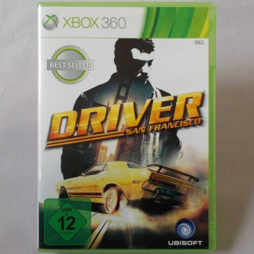 1 von 1 - XBOX 360 - Microsoft ► Driver: San Francisco ◄ dt.Version | TOP