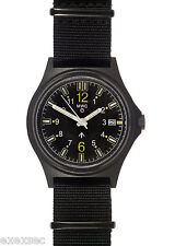 MWC Self Luminous G10SL Military Watch with GTLS Tritium Tubes in in Covert PVD