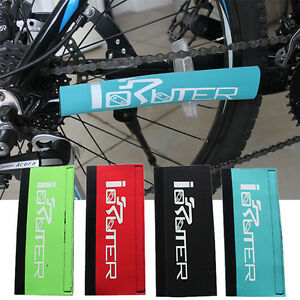 Bicycle Mountain Bike Frame Guard Chain Stay Protector Cover Magic Guard Pad