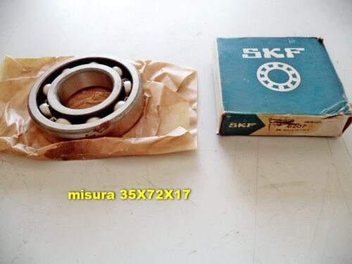 CUSCINETTO SKF 6207  misure 35X72X17