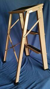 Pink Vintage Step Ladder Ekco Portable Kitchen Mid Century
