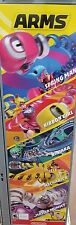 NINTENDO ARMS GAME  RARE Nintendo Switch Poster  16 x 48 in Store Display