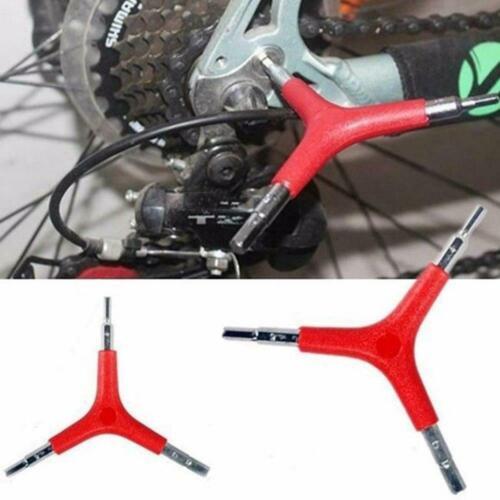 Bike Bicycle Cycling 3 Threeway Y Hex Allen Key Y5P5 Tools Size R C8S8
