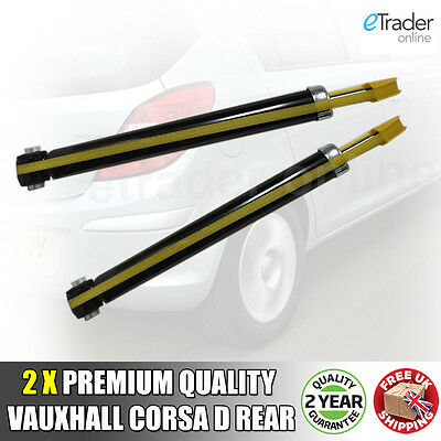 Vauxhall Corsa D Suspension Arrière Amortisseurs Shockers Paire 2006-2011