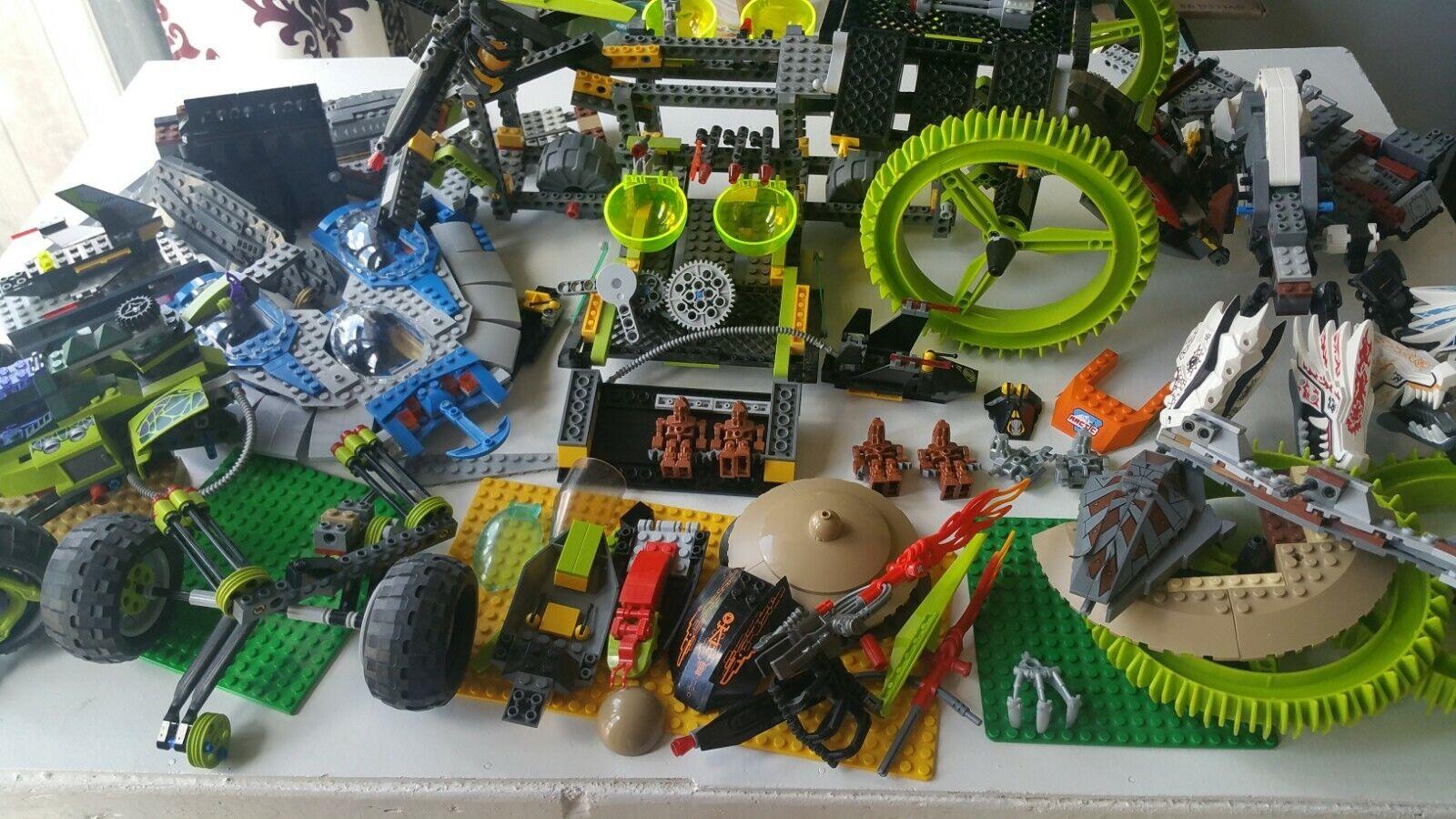 Sale  Huge 16.5lb+ LEGO MIXED LOT Ninjago 9445 9450 8108 Star Wars 9499 Gungan