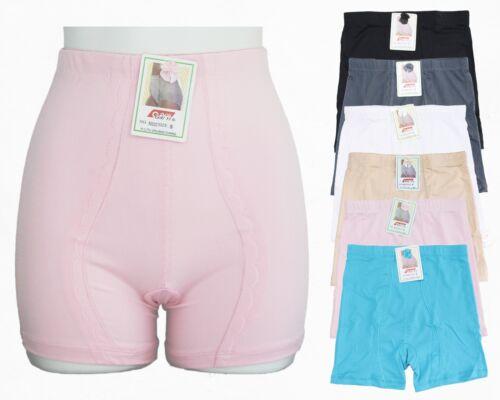 GaiYi 50033 High Waist Stretchy Smooth Boxer Shorts Girdle Panty Underwear 6pk