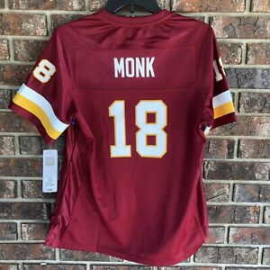 finest selection d1632 089e5 Details about NFL ProLine Vintage Redskins Jersey Art Monk #18 Defected  Misnumbered