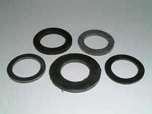 M18 Rubber Washers Choose from 3 different sizes,