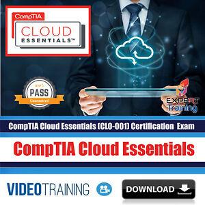 Details about CompTIA Cloud Essentials (CLO-001) Video Training Course  DOWNLOAD