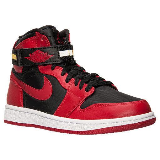 b46e17403b6 ... store 342132 002 nike air jordan retro 1 high strap black gym red white  24c86 b1dcb