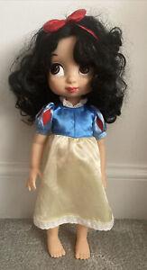"Disney Snow Bianco 16"" Store Animator doll Snow White & The Seven Dwarfs"