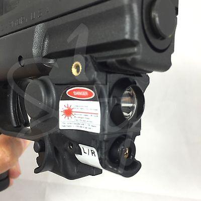LaserSpeed Tactical Green Laser Light Combo Subcompact Hand Gun Pistol Sig Glock