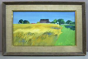 PAUL W DARROW__Watercolor/Gouache by Noted Bucks County Artist__ExC__SHIPS FREE