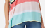 Cuddl-Duds-Sun-Cool-Breeze-Short-Sleeve-Top-Multi-Stripe-M-A346887-QVC thumbnail 3