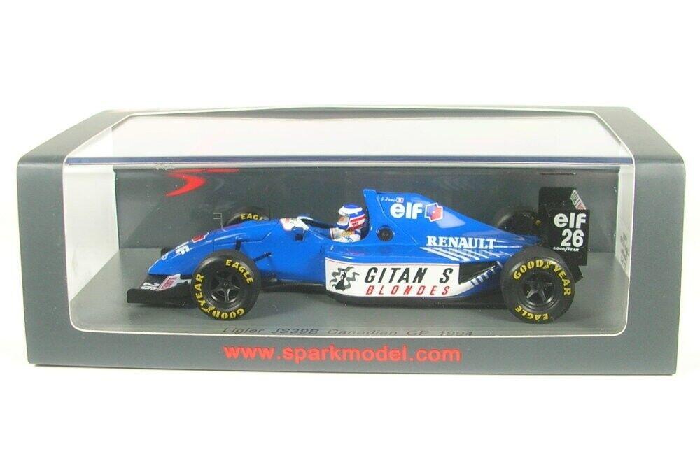 scelta migliore LIGIER js39b n. 26 26 26 CANADIAN GP Formula 1 1994 (Olivier Panis)  all'ingrosso a buon mercato