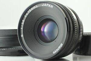 Excellnt-5-Com-Capuz-Mamiya-G-75mm-f-3-5-para-lentes-Mf-L-Novo-Mamiya-6-Do-Japao