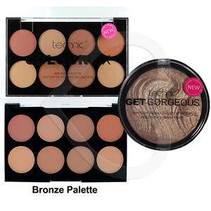 Technic-Colour-Fix-Bronze-Foundation-Palette-amp-Get-Gorgeous-Bronzing-Powder-Duo