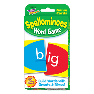 Spellominoes - Fun Educational Spelling Card Game - Home Learning - Ages 6+
