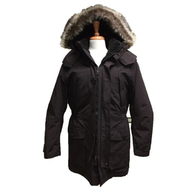 ea0f6d02da Coach F84003 Mens Thompson Snorkel Shearling 3 in 1 Cordovan Hooded Jacket  Coat