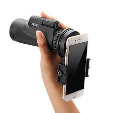 12x50 Hiking Concert Camera Lens Zoom Telescope+Smart Phone Holder for Samsung