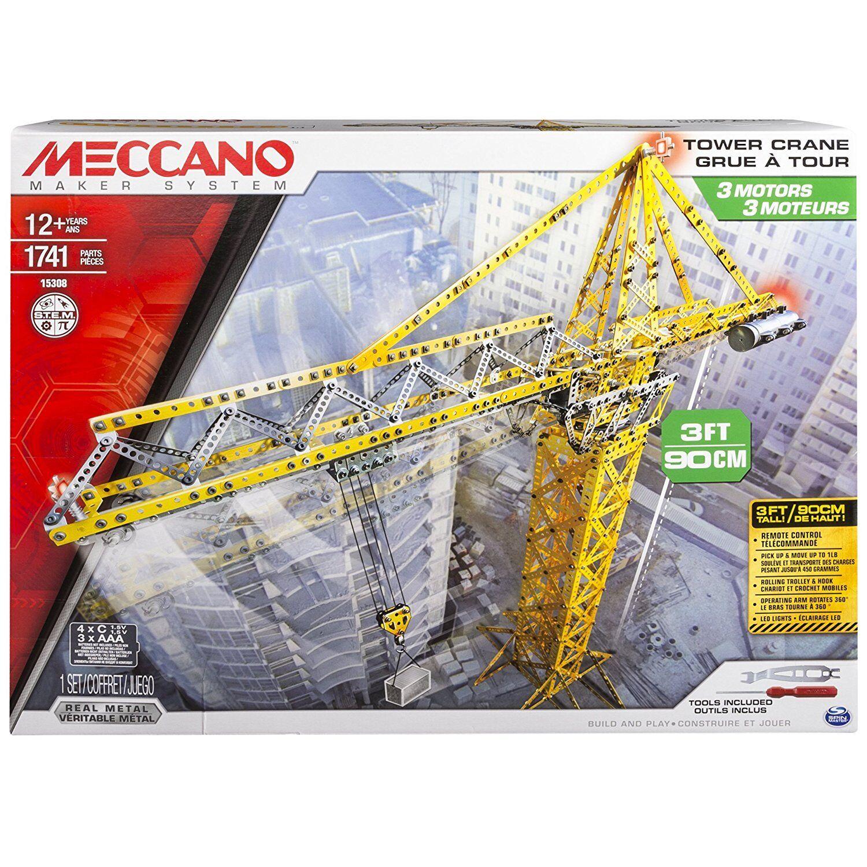 Meccano 6024905 - Gru funzionate, 1741 pz.