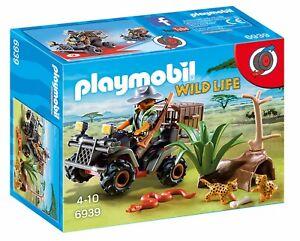 PLAYMOBIL-Wild-Life-6939-Wilderer-mit-Quad