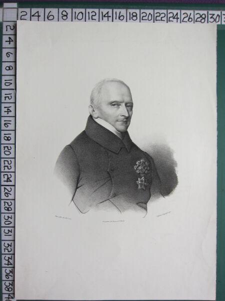 GemäßIgt C1830 Georgianisch Aufdruck ~ Unbekannt Porträt