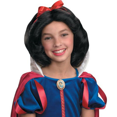 Disney Princess Snow White Child Costume Wig Disguise 90364