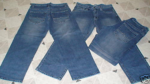 a12f79fd Jeans Soft&Relaxing-lots of 5 Pairs 100%Cotton-Size 40 34-New ...