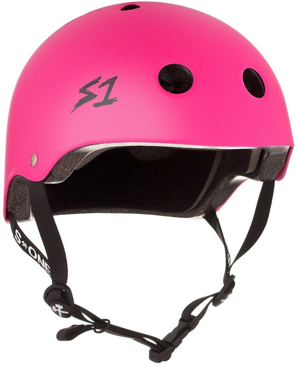 S1  Lifer Helmet - Hot Pink Matte  very popular