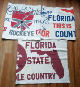 Rustic Rugs State College Ohio Buckeyes Florida Seminoles And Gators