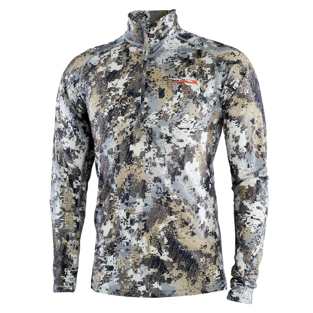 Sitka Elevated II Merino CORE  Ltwt Half-Zip Optifade Elevated II Small 10056-EV  cheap designer brands