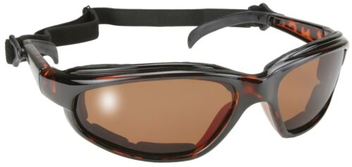 Kickstart 2 Padded Chopper Yellow Sunglasses From Makers Of KD /'s Biker Shades