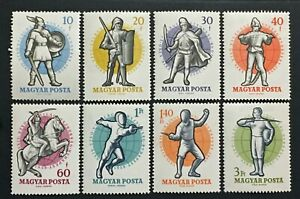 Stamp-Hungary-Yvert-and-Tellier-N-1295-IN-1302-N-MNH-Cyn36-Hungary-Stamp
