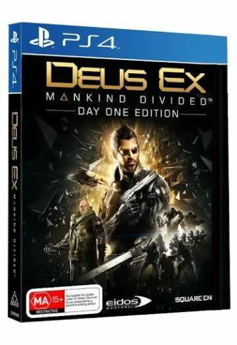 1 of 1 - Deus Ex: Mankind Divided Day 1 Edition PS4