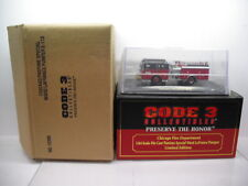 CODE 3 COLLECTIBLES CHICAGO FIRE DEPARTMENT WARD LAFRANCE  #113 1/64 SCALE
