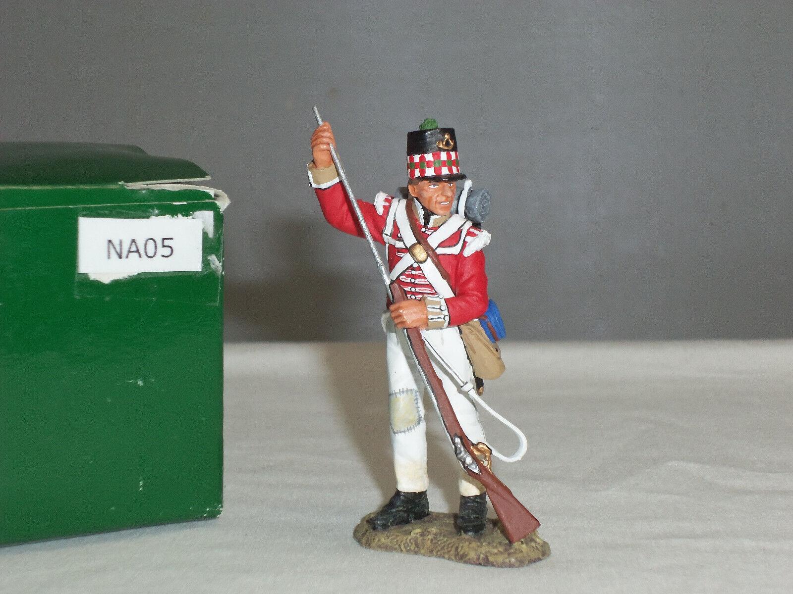 King and Country NA05 British 71ST Highlander in piedi il caricamento giocattolo Soldato