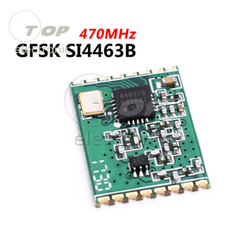 433//470MHz SI4463 4463 sans fil émetteur-récepteur Module 100 mW 126dBm GFSK