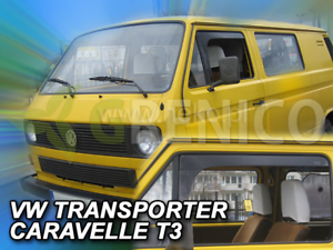 Windabweiser VW Transporter//Caravelle T3 2-tür 1979-1990 2tlg HEKO Regenabweiser
