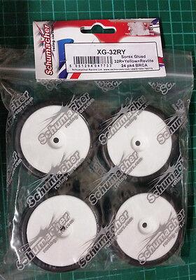 Sorex Pre Glued 32R 1/10 Touring Car Tyres BRCA Control Tyre Pack of 4 - XG-32RY
