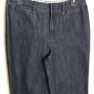Chico-039-s-1-Platinum-Womens-Denim-Blue-Jeans-Size-8-Medium-Melissa-RG-Trouser