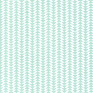 Pure-Arrow-Stripe-Mint-Cotton-Fabric-Small-Geometric-Quilting-Dressmaking