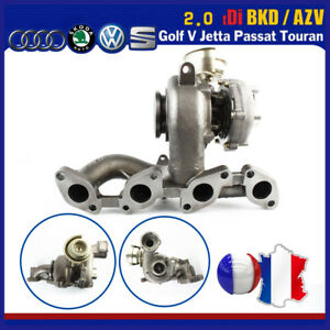 Turbo-chargeur-Neuf-724930-5-VW-Golf-V-Passat-B6-Touran-2-0-TDI-BKD-03G253014H