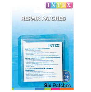 Intex Reparaturflicken selbstklebend Flicken für Pool + Aufblasartikel