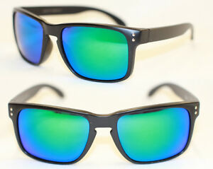 sport sonnenbrille retro matt schwarz gr n verspiegelt 751. Black Bedroom Furniture Sets. Home Design Ideas